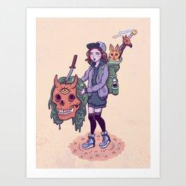 Collector Art Print