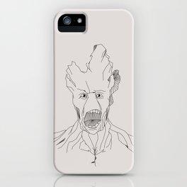 Groot geometric iPhone Case