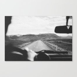 ON THE ROAD XVII Canvas Print
