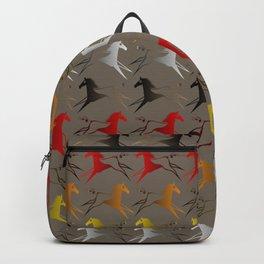Native American War Horse Backpack