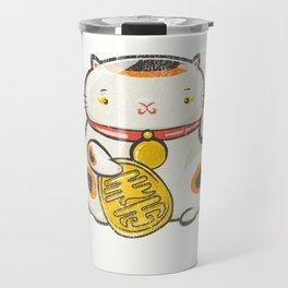 Maneki Neko [Special Lucky Toy Box] Travel Mug