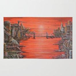 Crimson City Rug