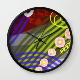 Mr. & Mrs. Morgan Wall Clock