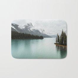 Landscape Photography Maligne Lake Bath Mat