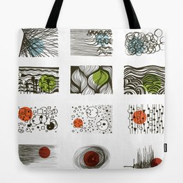 four seasons 2018 calendar Tote Bag
