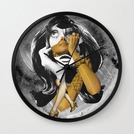 lady1 Wall Clock