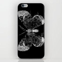 Butterfly Wanderlust iPhone Skin