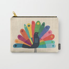 Whimsical Peacok Carry-All Pouch