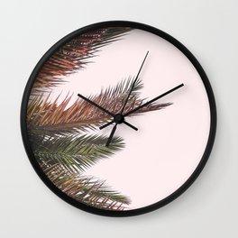 Palm Life Wall Clock