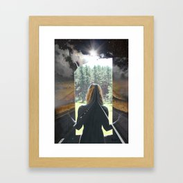Road to Anywhere Framed Art Print
