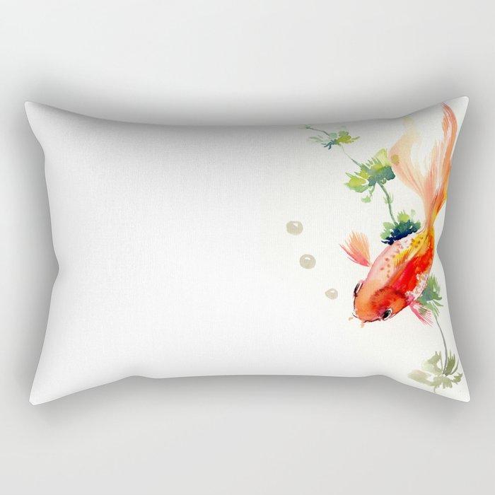 Goldfish Rectangular Pillow
