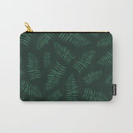 FERN PATTERN {deep forest} Carry-All Pouch