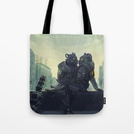 fallout love Tote Bag