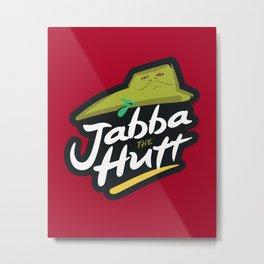 Brand Wars: Jabba the Hutt Metal Print