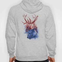 Red Stag and Blue Boar Hoody