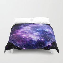 Galaxy Planet Purple Blue Space Duvet Cover