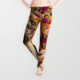 FLORAL AND BIRDS XVI Leggings