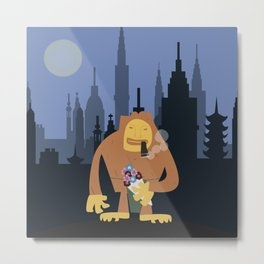 Nagmamahal, Kapre (Philippine Mythological Creatures Series #3) Metal Print