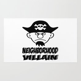 Neighborhood Villain Rug