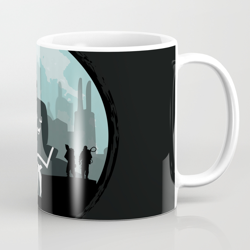 Ghostbusters Versus The Stay Puft Marshmallow Man Mug by Kamonkey MUG2081246