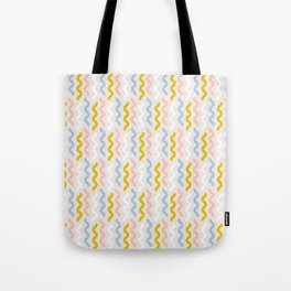 Squiggles and Wiggles Tote Bag