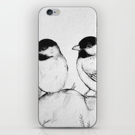 Two Birds With One Stone iPhone Skin