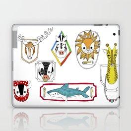 Animals head plaques Laptop & iPad Skin