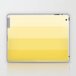 Four Shades of Yellow Laptop & iPad Skin