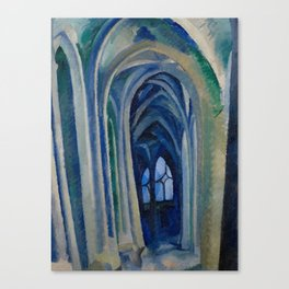 Robert Delaunay - Saint-Severin,1909 Canvas Print