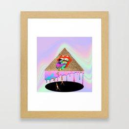 Rolling Stones Stoned Framed Art Print