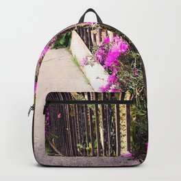 Turn Around Flowers Backpack