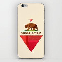 California 2 (rectangular version) iPhone Skin