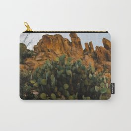 Giant Desert Cactus in Big Bend National Park Carry-All Pouch