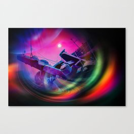 Our world is a magic - Time Tunnel 2 Canvas Print