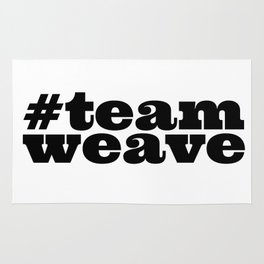 #teamweave Rug