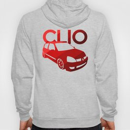 Renault Clio - classic red - Hoody