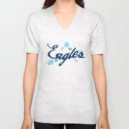 Eagle Girls  Unisex V-Neck