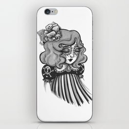 Day of the Dead Princess iPhone Skin