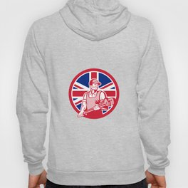 British Plumber and Gasfitter Union Jack Icon Hoody