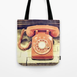 Vintage Phone Tote Bag