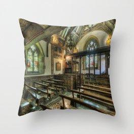 The Hidden Chapel Throw Pillow