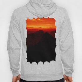 Red Horizon, Fire in the Distance. Hoody
