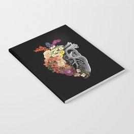 Flower Heart Spring Notebook