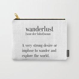Travel Prints, Printable Wall Decor, Wanderlust Art, Wanderlust Print,Scandinavian Poster Carry-All Pouch