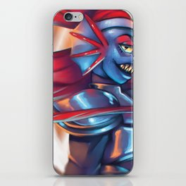 Undyne the Undying iPhone Skin