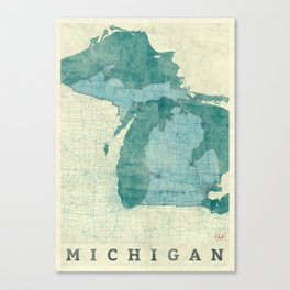 State map canvas prints society6 gumiabroncs Image collections