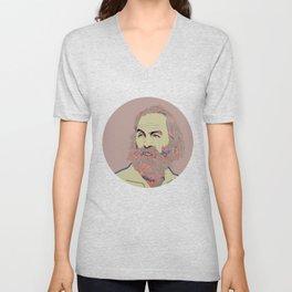 Walt Whitman Unisex V-Neck
