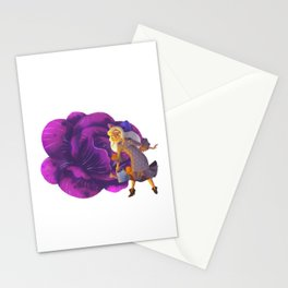 Purple Cabbage Stationery Cards
