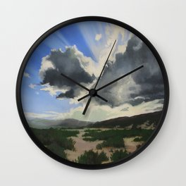 Sun break Ridge Wall Clock