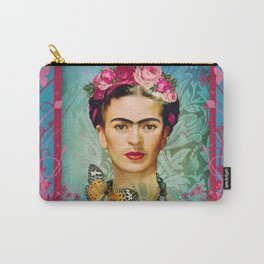 FRIDA Y MARIPOSA Carry-All Pouch